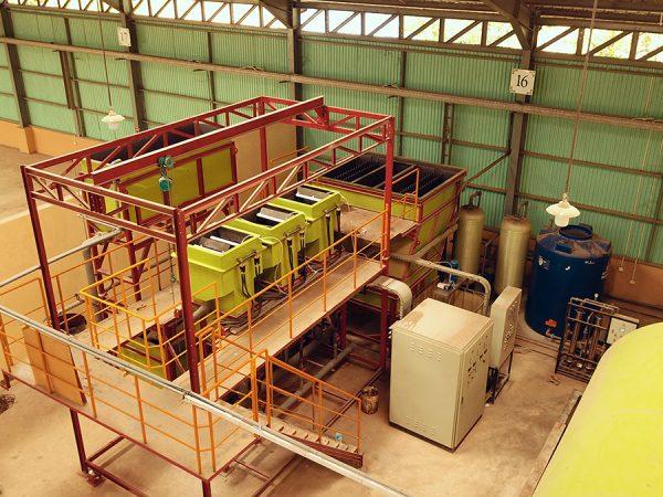 Pengolahan Limbah Cair dengan Mesin Elektrokoagulasi